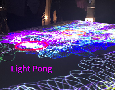 Light Pong Interactive Mapping with Arduino