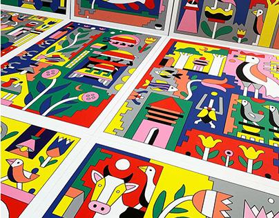 Terra incognita prints