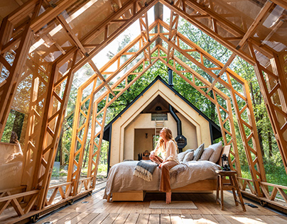 Cabin ANNA designed by Caspar Schols
