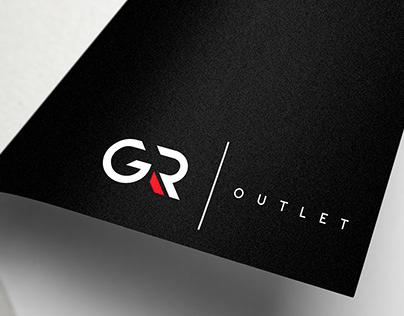 GR OUTLET | Logo Design