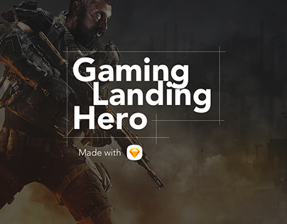 Gaming Landing Hero