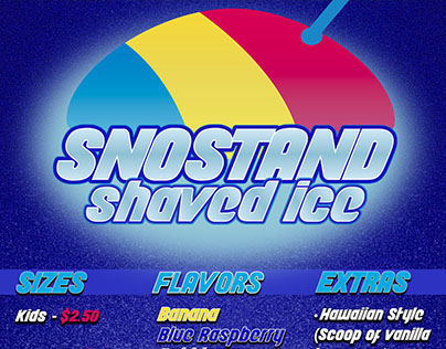 SnoStand Shaved Ice