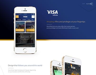 Visa Infinite App - Asia Pacific