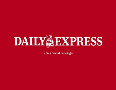 Daily Express - News portal redesign