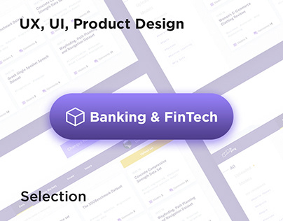 Banking & FinTech | Best UX, UI cases