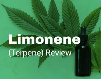 Limonene Terpene Review