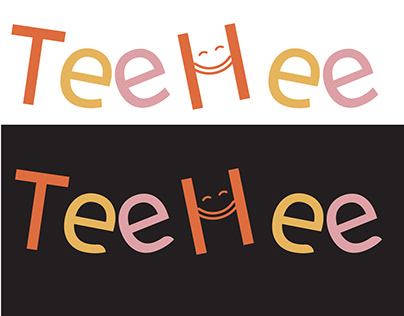 TeeHee is a baby/kids brand logo design