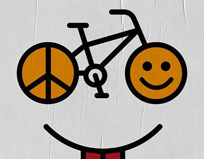 Paz, amor y bicicletas | Cartel