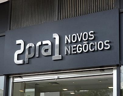 Branding para 2pra1 - Novos Negócios