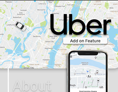 Uber | Concept Design | Add-on Feature | UI/UX