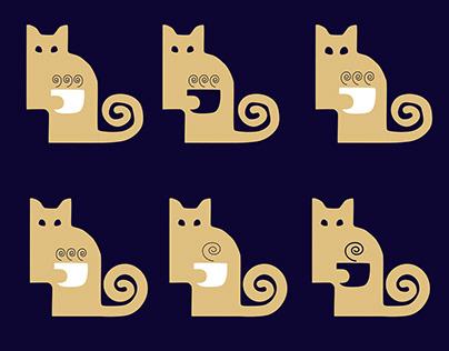 Logo for Cat Cafe