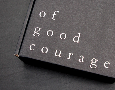 of good courage | group leader box