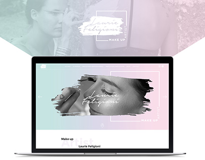 WEB DESIGN // Laurie Feligioni Make up Artist