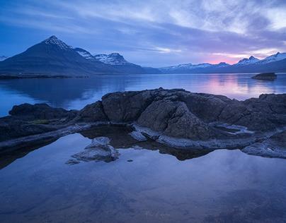 Iceland Blue Tones