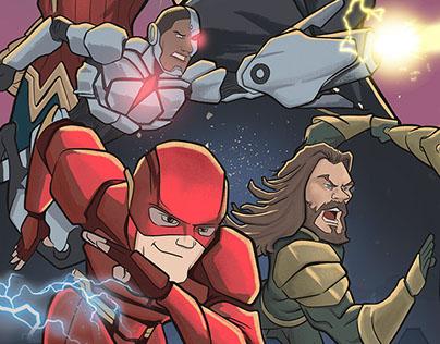 Justice League - Illustration