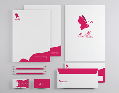 Papillon Boutique Branding