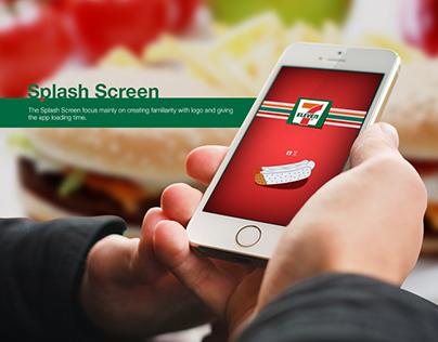 7Eleven Concept Design - Mobile App