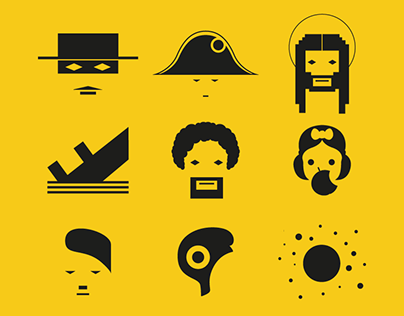 Icons for short films