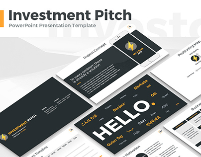 Investment Pitch Presentation Template