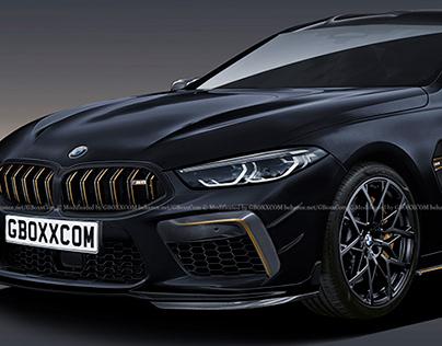 2020 BMW M8 GC Black Gold