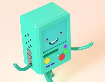 Bmo character animation Cycle