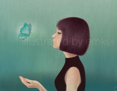 music album cover design & illustration