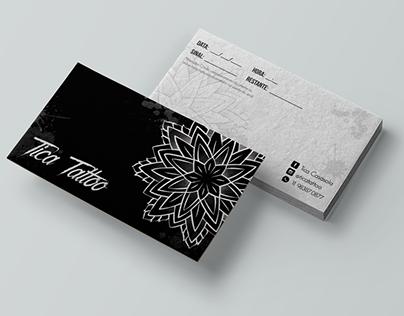 Desenvolvimento de logotipo | Tica Tattoo