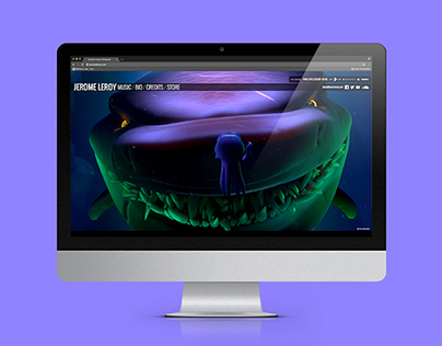 Jerome Leroy Website Redesign