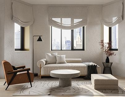 Moscow Wabi Sabi apartment