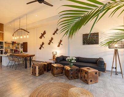 DS Bali Villa Photography - Warm Woods & Concrete Villa