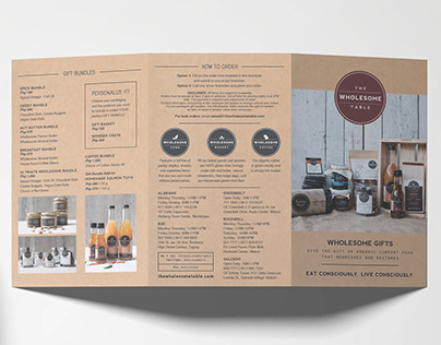 Wholesome Gifts Brochure