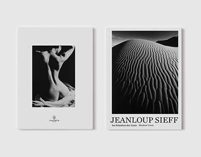 JEANLOUP SIEFF exhibition catalogue