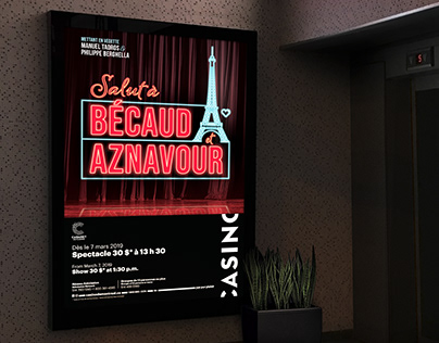 Salut à Bécaud et Aznavour