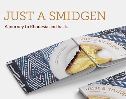 Just a smidgen - Book design