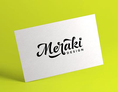 Meraki Lettering