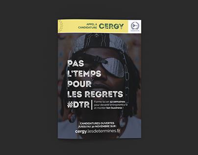 Piste créative Campagne Promotionnelle Les Déterminés