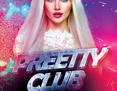 Preetty Club Flyer