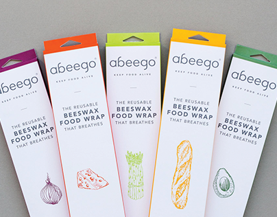 Abeego Branding, Packaging & Website Design