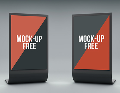 Stand Display Mock-Up (FREE)