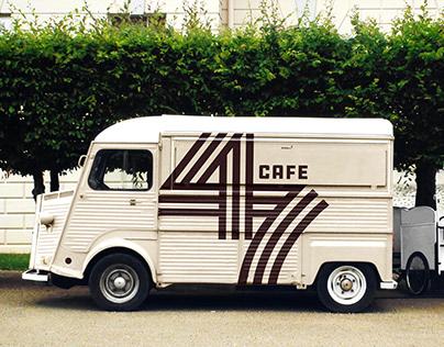 47 Cafe - Logo Design