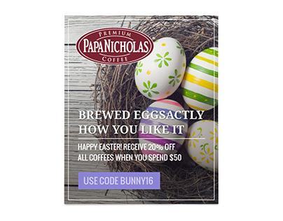 PapaNicholas Social Media Ads