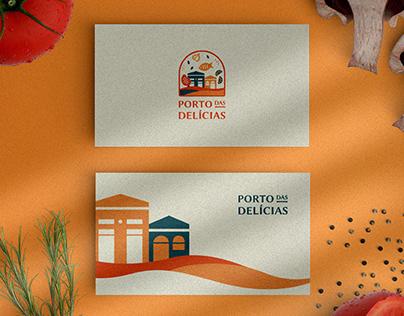Porto das Delícias   Identidade Visual