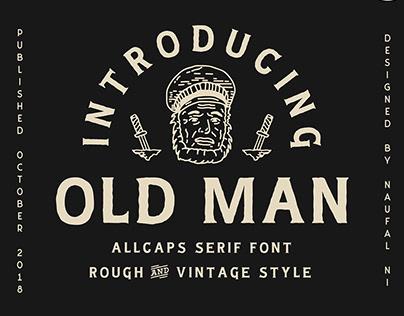 OLD MAN - VINTAGE FONT - FREE DOWNLOAD