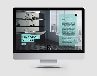 Responsive web-design for architecture studio