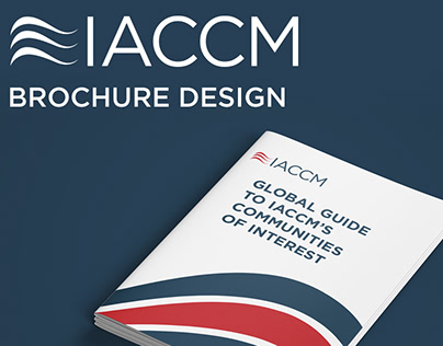 IACCM - brochure design