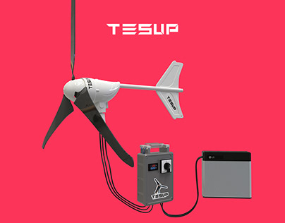 TESUP Wind Turbine and Charge Systems