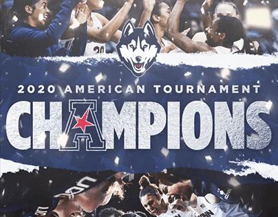 UConn WBB American Championship