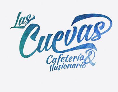 Las cuevas, coffee shop branding
