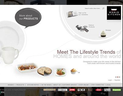 World Kitchen E-Commerce Website