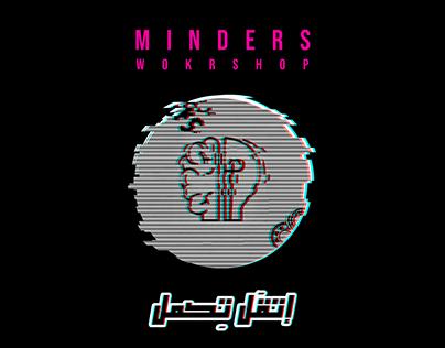 "Unofficial logo for Minders Workshop "" GLITCH"""
